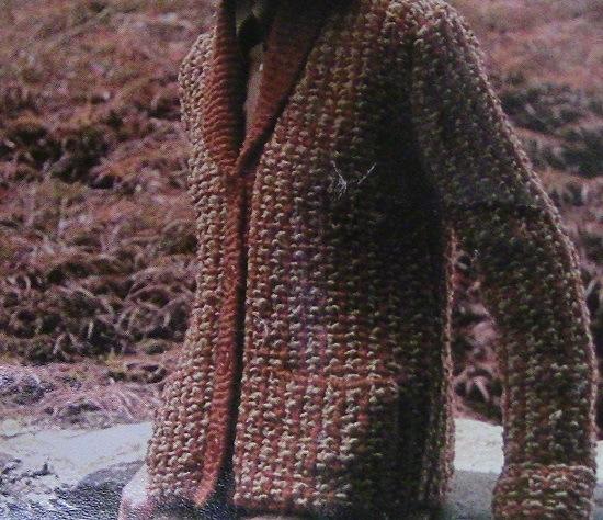 Women's Cardigan Vintage Knitting Pattern S, M, L