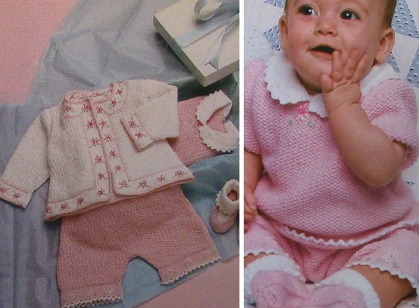 Knitted Baby Layette Pattern 3, 6-9, 12 months