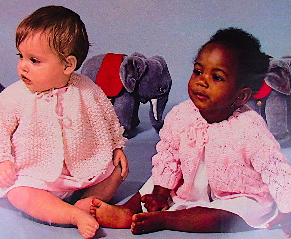 Sweaters Fingering Yarn Knitting Patterns for Babies