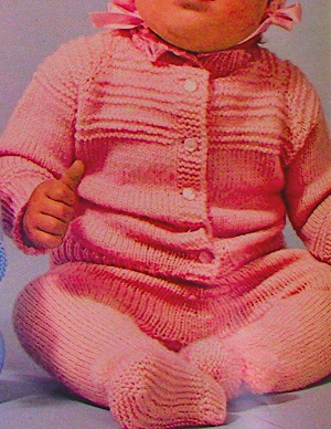 Baby Leggings Jacket Hat Sport Yarn Infant Knitting Pattern