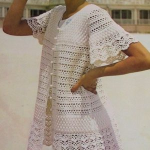Lace Beach Dress Crochet Pattern