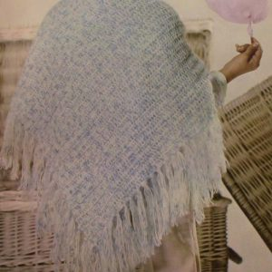 Light weight Yarn Shawl Double Crochet Pattern