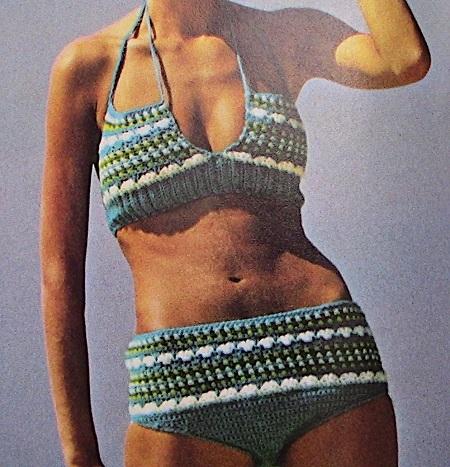 Summer Top And Swimsuit Size S, M - Sport Yarn - Crochet Pattern