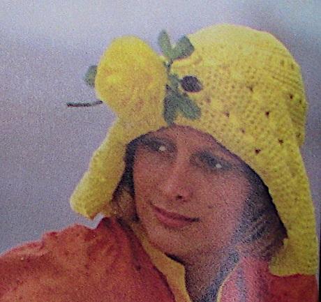 Wide Brim Hat Crochet Pattern 3 Ply Yarn