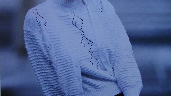 Summer Top and Cardigan - Knitting Pattern - Sizes S, M, L - DK 3 Ply Yarn