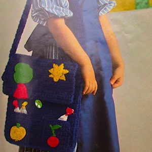 Treasure Bag Crochet Pattern Vintage