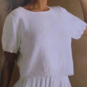 Summer Top - Sizes S, M, L - DK Yarn - Knitting Pattern