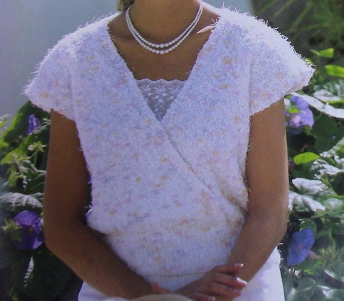 Summer Top Stockinette Stitch - Sizes, S, XSM, L, XL - 3 Ply DK or 4 Ply Worsted Yarn - Vintage Knitting Pattern