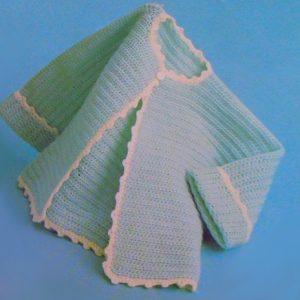 Baby Jacket - 6 Months, 1 Year - Easy Crochet Pattern